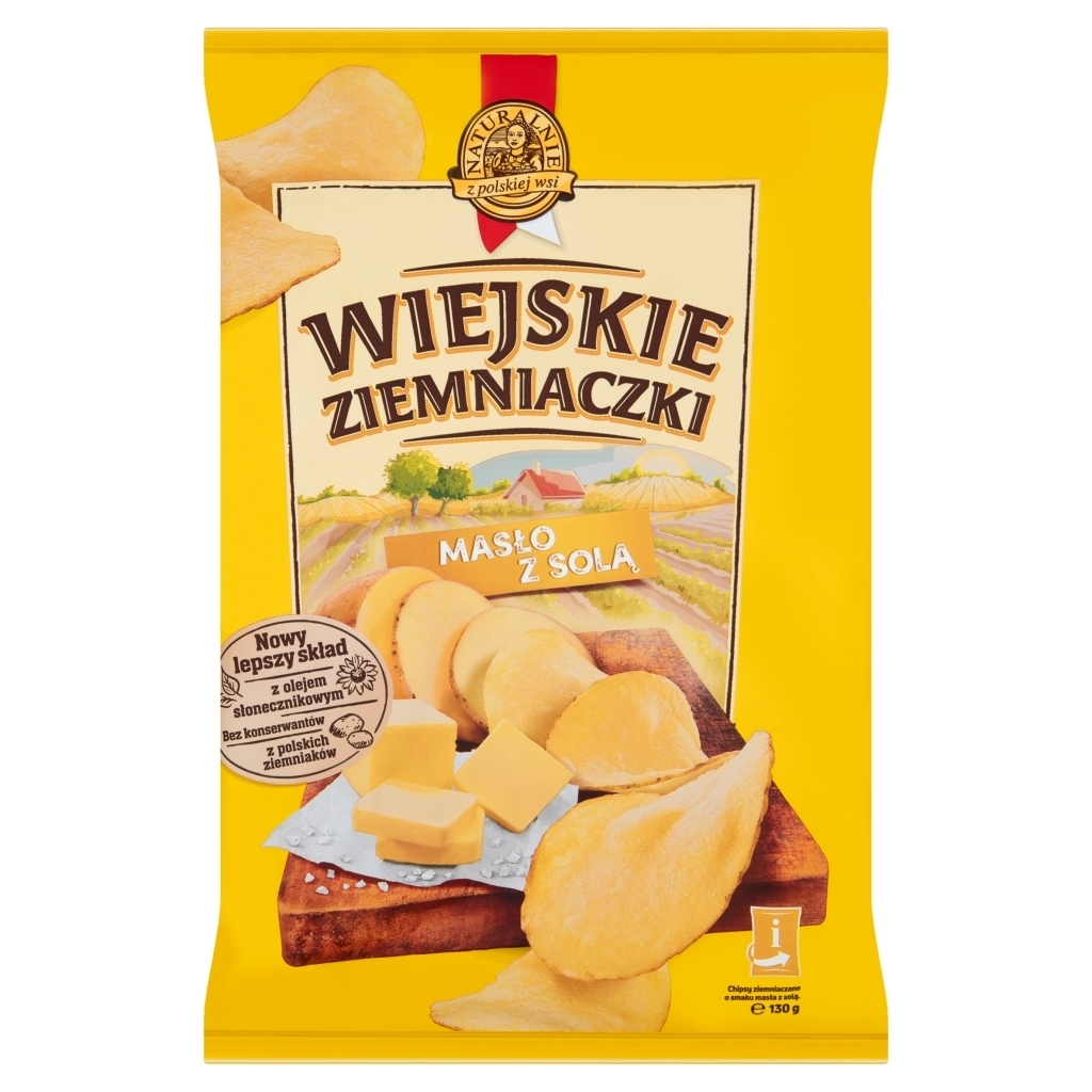 Chipsy Wiejskie ziemniaczki