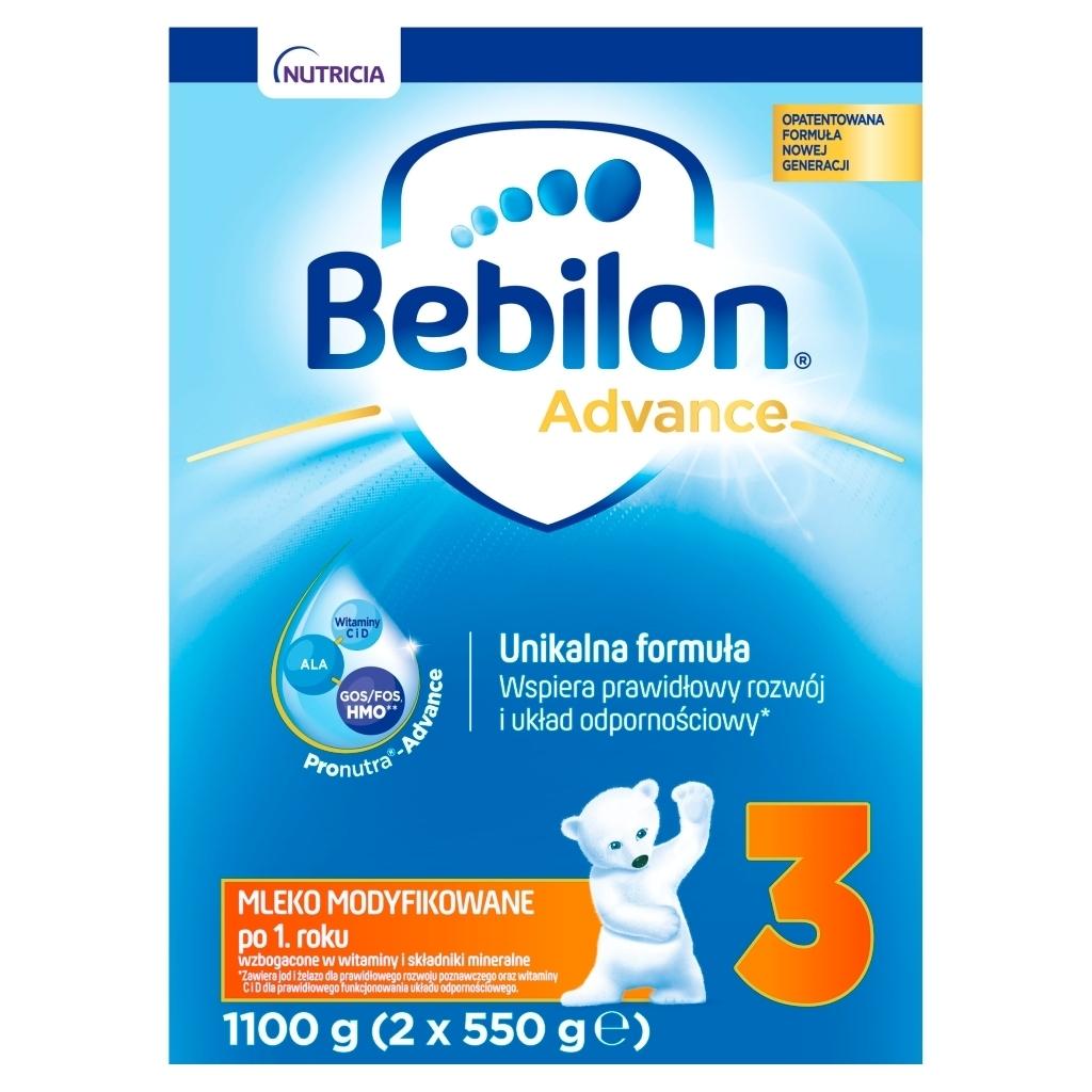 Mleko modyfikowane Bebilon