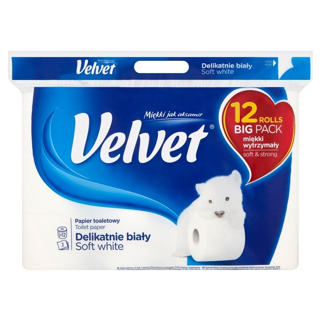Papier toaletowy Velvet