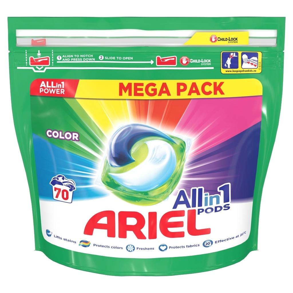 Kapsułki do prania Ariel