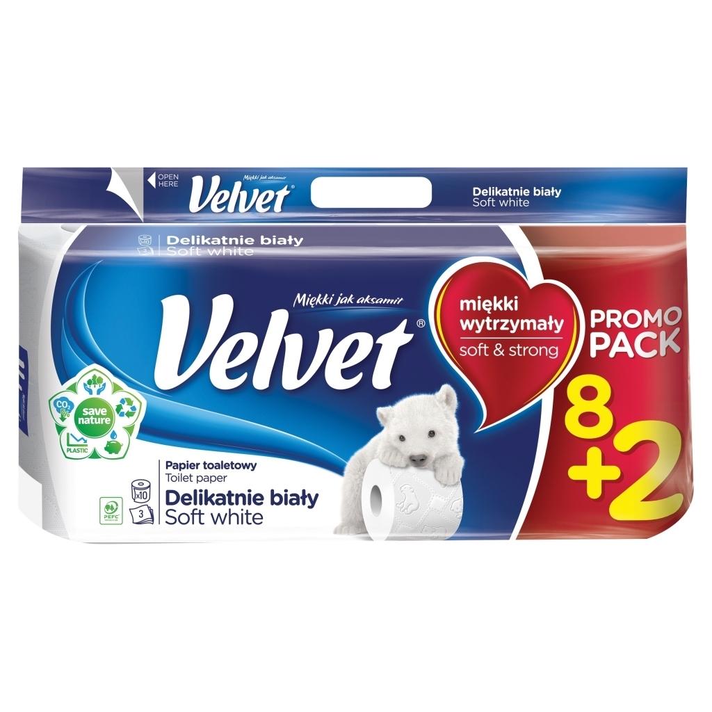 Papier toaletowy Velvet - 5
