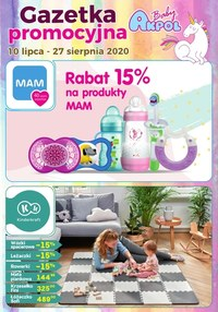 Gazetka promocyjna Akpol Baby - Akpol Baby - gazetka promocyjna - ważna do 27-08-2020