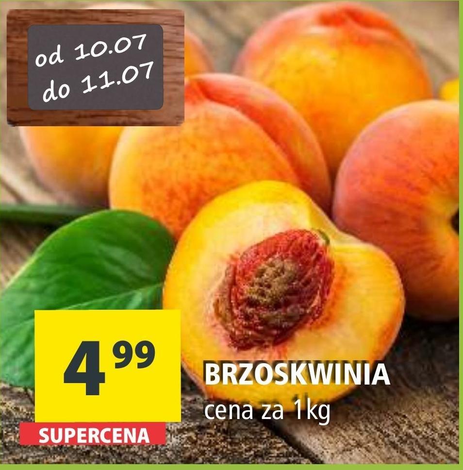 Brzoskwinia niska cena