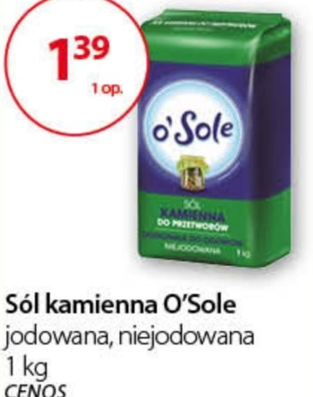Sól kamienna O'Sole