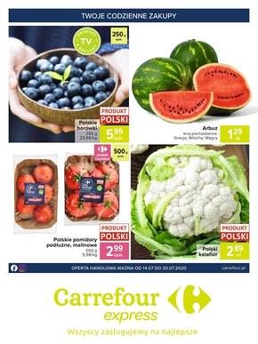 Przysmaki w Carrefour Express