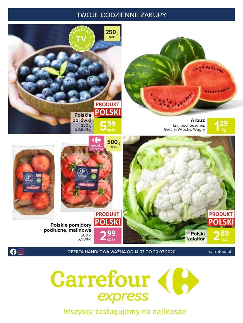 Carrefour Express: 3 gazetki