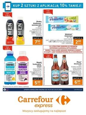Taniej z aplikacją w Carrefour Express
