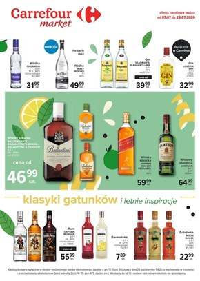 Oferta alkoholowa Carrefour Market