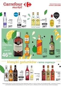 Gazetka promocyjna Carrefour Market - Oferta alkoholowa Carrefour Market