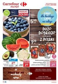Gazetka promocyjna Carrefour Market - Oferta spożywcza Carrefour Market! - ważna do 20-07-2020