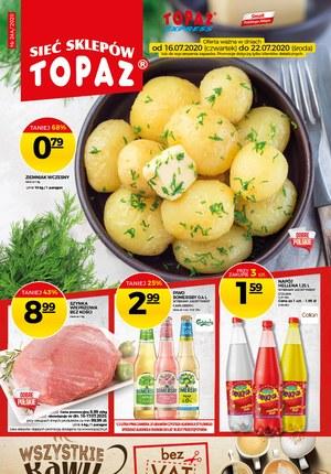 Gazetka promocyjna Topaz - Każdy dzień z uśmiechem w Topaz!