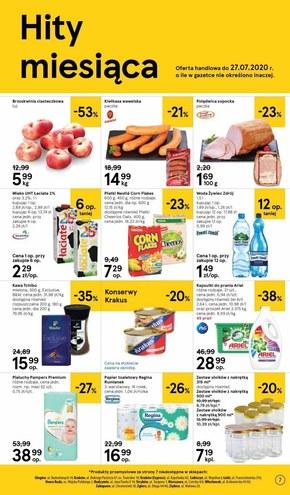 Letnie promocje w Tesco Supermarket