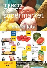 Gazetka promocyjna Tesco Supermarket - Letnie promocje w Tesco Supermarket - ważna do 22-07-2020