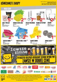 Gazetka promocyjna Uśmiechnięte zakupy - Wakacyjna oferta Uśmiechnięte Zakupy