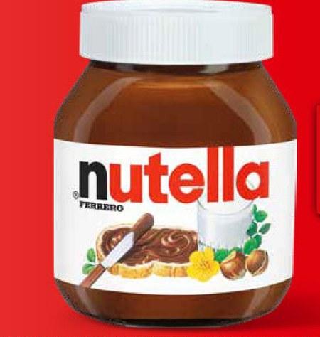 Krem orzechowy Nutella