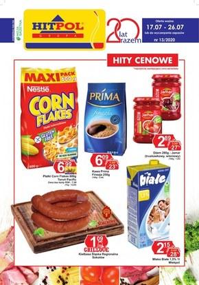 Promocje w sklepach Hitpol