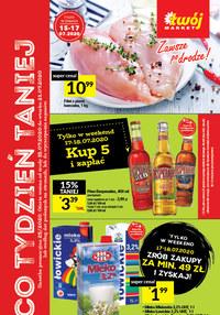 Gazetka promocyjna Twój Market - Tydzień mega okazji w sklepie Twój Market - ważna do 21-07-2020