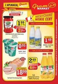 Gazetka promocyjna Gram Market - Gram Market - gazetka promocyjna
