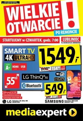 Wielkie otwarcie Lubliniec