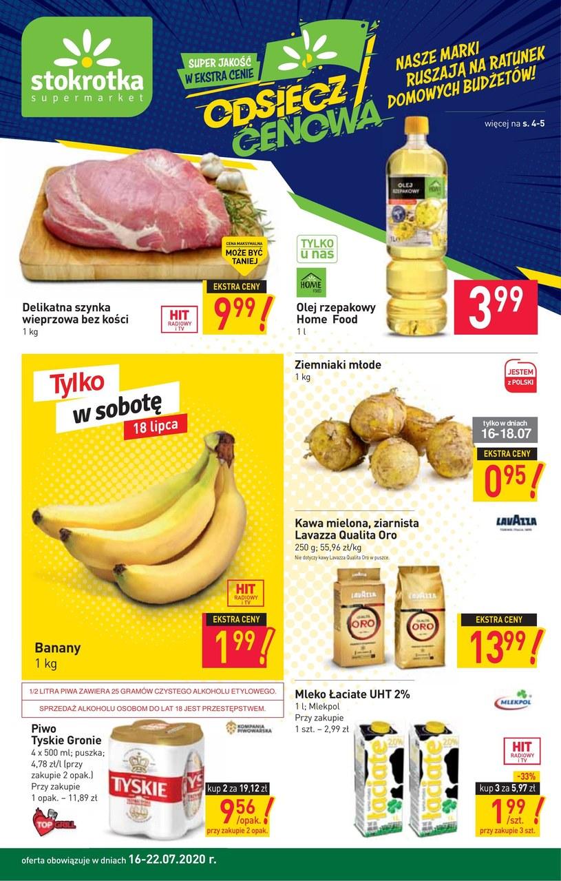 Gazetka promocyjna Stokrotka Supermarket - ważna od 16. 07. 2020 do 22. 07. 2020