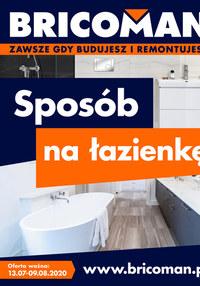 Gazetka promocyjna Bricoman - Sposób na łazienkę z Bricoman - ważna do 09-08-2020
