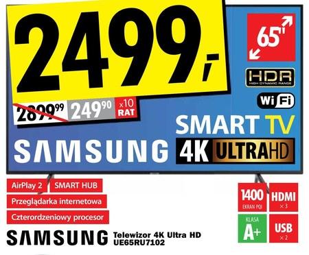 Telewizor LED UE65RU7102 Samsung