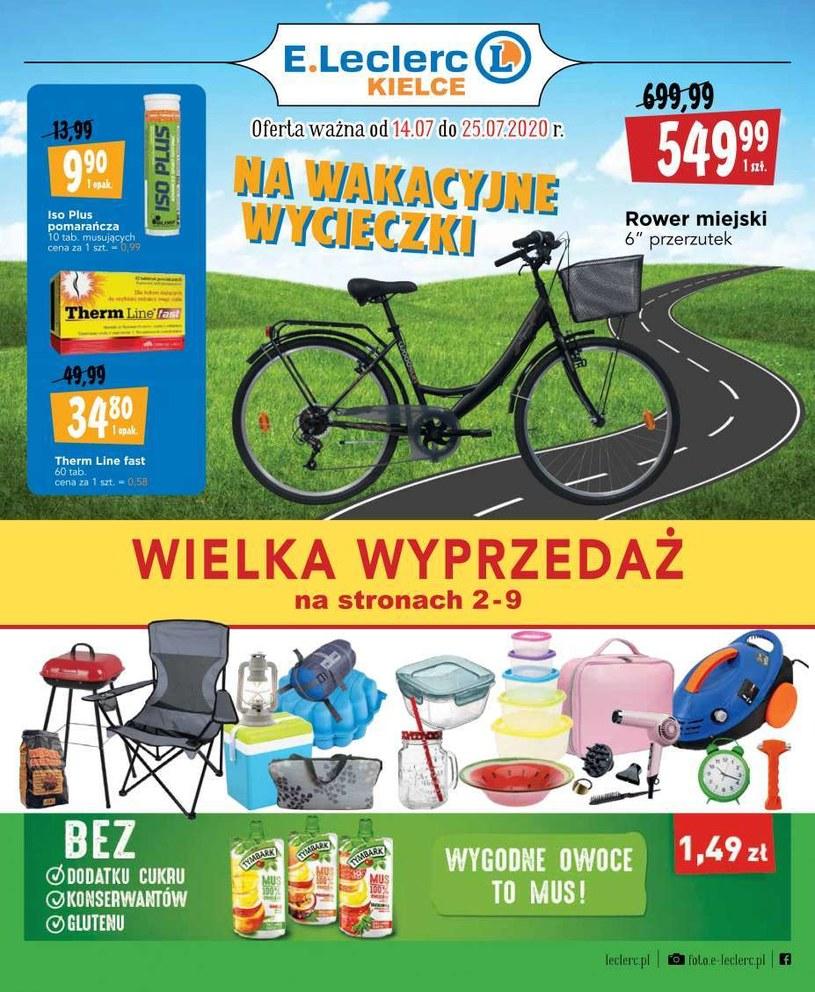 Gazetka promocyjna E.Leclerc - ważna od 14. 07. 2020 do 25. 07. 2020