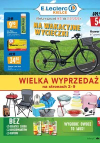 Gazetka promocyjna E.Leclerc - Wielka wyprzedaż - E.Leclerc Kielce