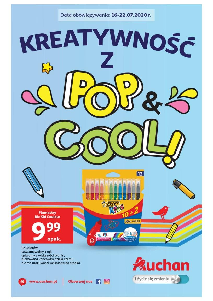Gazetka promocyjna Auchan Hipermarket - ważna od 16. 07. 2020 do 22. 07. 2020