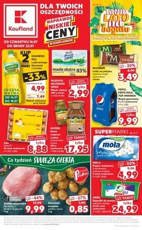 Kaufland gazetka promocyjna, aktualna oferta » 21 07 2020