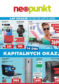 Gazetka promocyjna NEOPUNKT - Kapitalne okazje w Neopunkt - ważna do 28-07-2020