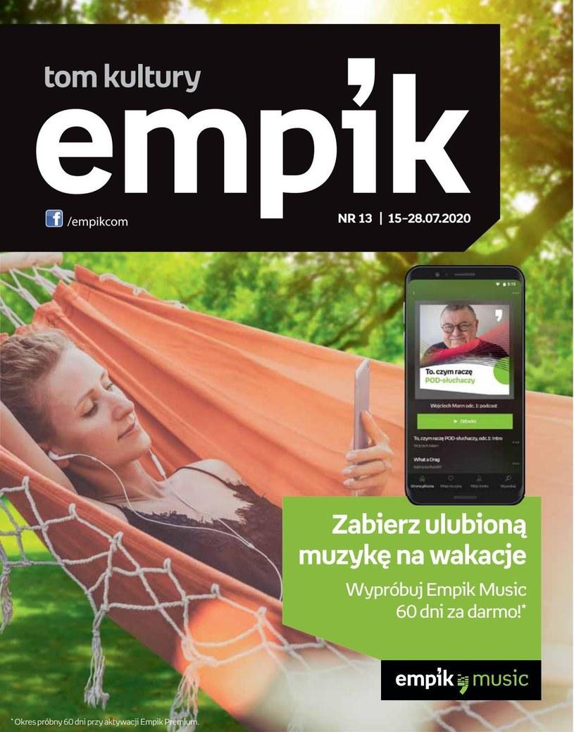 Gazetka promocyjna EMPiK - ważna od 15. 07. 2020 do 28. 07. 2020