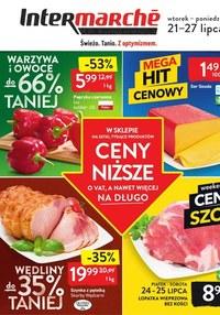 Gazetka promocyjna Intermarche Super - Tanie warzywa i owoce w Intermarche!  - ważna do 27-07-2020