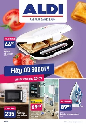 Gazetka promocyjna Aldi - Hity od soboty w Aldi