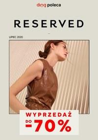 Gazetka promocyjna Reserved - Wyprzedaż do 70% w Reserved  - ważna do 31-07-2020