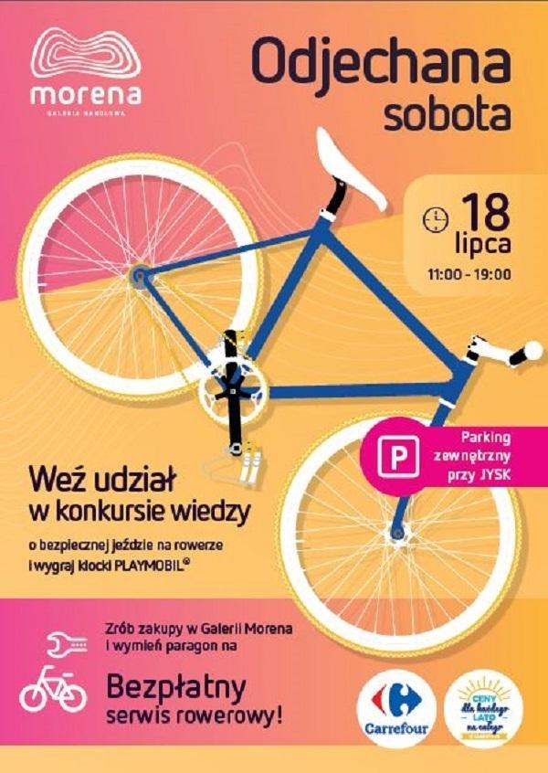 serwis rowerowy w Carrefour