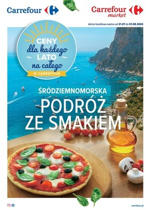 Gazetka promocyjna Carrefour - Podróż ze smakiem w Carrefour