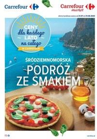 Gazetka promocyjna Carrefour - Podróż ze smakiem w Carrefour - ważna do 01-08-2020