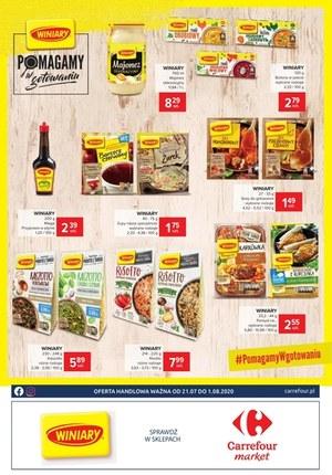 Gazetka promocyjna Carrefour Market - Winiary w Carrefour Market