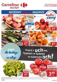 Gazetka promocyjna Carrefour Market - Kupuj z ochotą w Carrefour Market - ważna do 27-07-2020