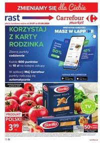 Gazetka promocyjna Rast - Rast zmienia się w Carrefour Market - ważna do 01-08-2020