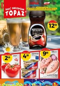 Gazetka promocyjna Topaz - Każdy dzień z uśmiechem w Topaz - ważna do 29-07-2020
