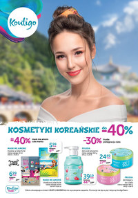 Gazetka promocyjna Kontigo - Koreańskie kosmetyki w Kontigo - ważna do 01-08-2020