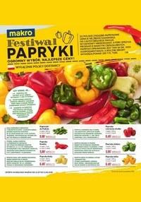 Gazetka promocyjna Makro Cash&Carry - Festiwal papryki w Makro Cash&Carry - ważna do 03-08-2020