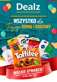 Gazetka promocyjna Dealz - Wielkie otwarcie Dealz Bydgoszcz - ważna do 07-08-2020