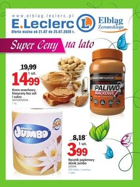 Zdrowo i tanio w E.Leclerc Elbląg