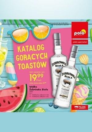 Gazetka promocyjna POLOmarket - Katalog gorących toastów Polomarket