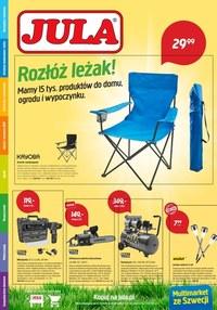Gazetka promocyjna Jula - Rozłóż leżak z Jula - ważna do 05-08-2020