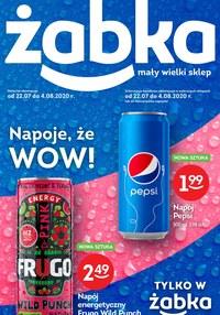 Gazetka promocyjna Żabka - Wow napoje w Żabce - ważna do 04-08-2020