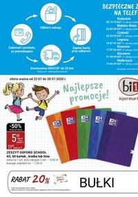 Gazetka promocyjna bi1 - Super ceny w sklepach Bi1 - ważna do 28-07-2020